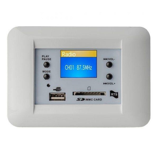 Centrale audio rts ts 711 b 50 50w stereo per - Filodiffusione in casa ...