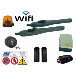 Kit Completi Cancelli a Battente Wi-Fi